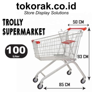 TROLLY SUPERMARKET 100 LITER