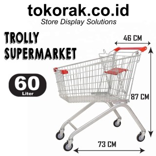 TROLLY SUPERMARKET 60 LITER