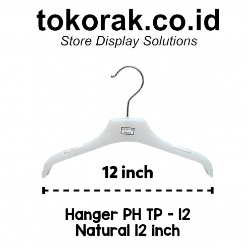 HANGER BAJU PH TP 12 NATURAL