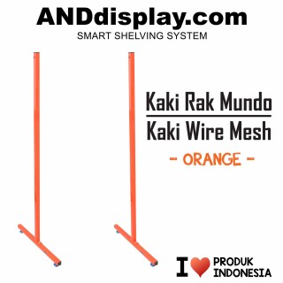 KAKI RAK MUNDO / KAKI WIRE MESH ORANGE